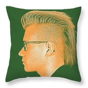 Thoughtful Youth Series 21 Throw Pillow