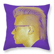 Thoughtful Youth Series 22 Throw Pillow