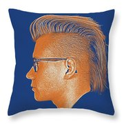Thoughtful Youth Series 24 Throw Pillow