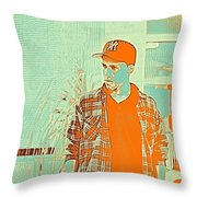 Thoughtful Youth Series 29 Throw Pillow