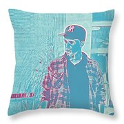 Thoughtful Youth Series 31 Throw Pillow