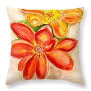 Thoughtfulness Throw Pillow