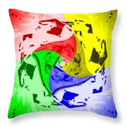 Thoughts About Earth Throw Pillow