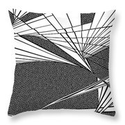 Thoughts Churning Throw Pillow