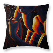 Thoughts In The Night Throw Pillow