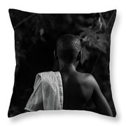 Thoughts In Time Throw Pillow by Bob Orsillo