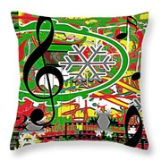 Thoughts Of Christmas Throw Pillow