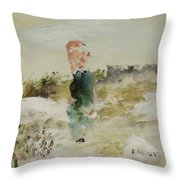 Thoughts Of Love Throw Pillow