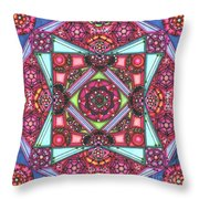 Thoughts Of Pink Throw Pillow