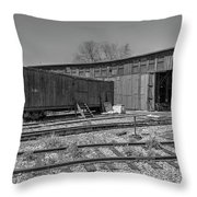 Thr Roundhouse Throw Pillow