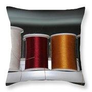 Thread On A Sill Throw Pillow