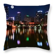Three A M  Throw Pillow
