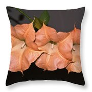 Three Angels Throw Pillow