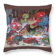 Three Arms12 Throw Pillow