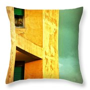 Three At The Window Throw Pillow