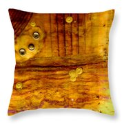 Three Brass Rings II Throw Pillow