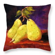 Three Buddies Throw Pillow