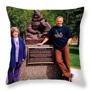 Three Champions ... Throw Pillow