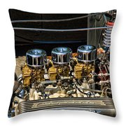 Three Duces Throw Pillow