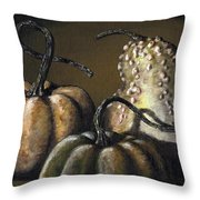 Three Gourds Throw Pillow