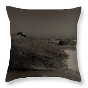 Three Granites Throw Pillow