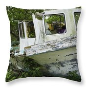 Three Hour Tour - In Color Throw Pillow