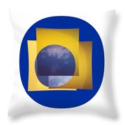 Three In One Square Throw Pillow