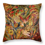 Three Keys Throw Pillow