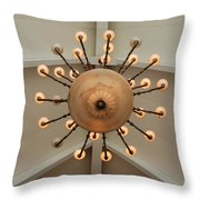 Three Lights Out Throw Pillow
