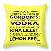Three Measures Of Gordans Throw Pillow