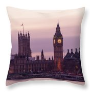 Three Minutes After Sunset Throw Pillow