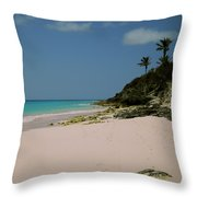 Three Palms Throw Pillow