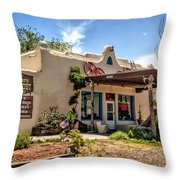 Three Rivers Trading Post Throw Pillow