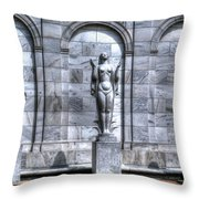 Three Seasons Throw Pillow
