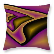 Three Ships Throw Pillow