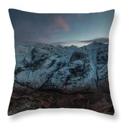 Three Sisters After Dark  Throw Pillow