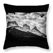 Three Sisters Alberta Throw Pillow