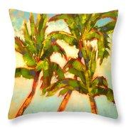 Three Sisters - Keauhou Bay Throw Pillow