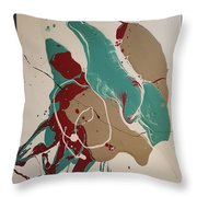 Three Sisters Under The Iron Sun Throw Pillow