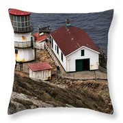 Three Story Climb Throw Pillow