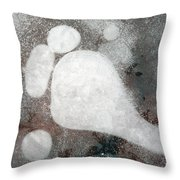 Three Toes Throw Pillow