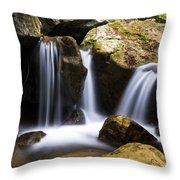 Three Waterfalls Throw Pillow