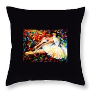 Thrill Throw Pillow