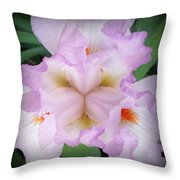 Thrill Of The Frill Throw Pillow