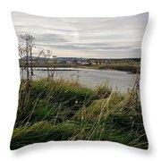 Thriving Under The Wind. Throw Pillow