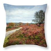 Through A Meadow Throw Pillow