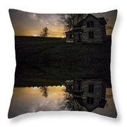 Through A Mirror Darkly  Throw Pillow