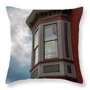 Through All Kinds Of Weather Throw Pillow