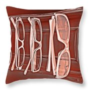 Through Becky's Eyes II Throw Pillow by Tony Grider