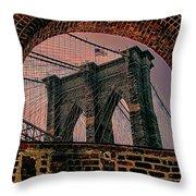 Through The Arch 2 Throw Pillow